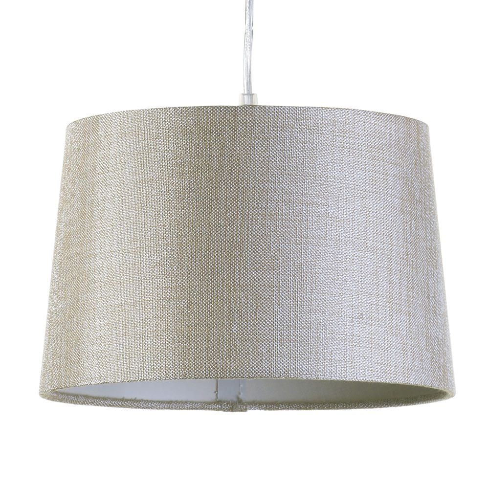 Small Easy to Fit Tapered Drum Ceiling Shade - Sand
