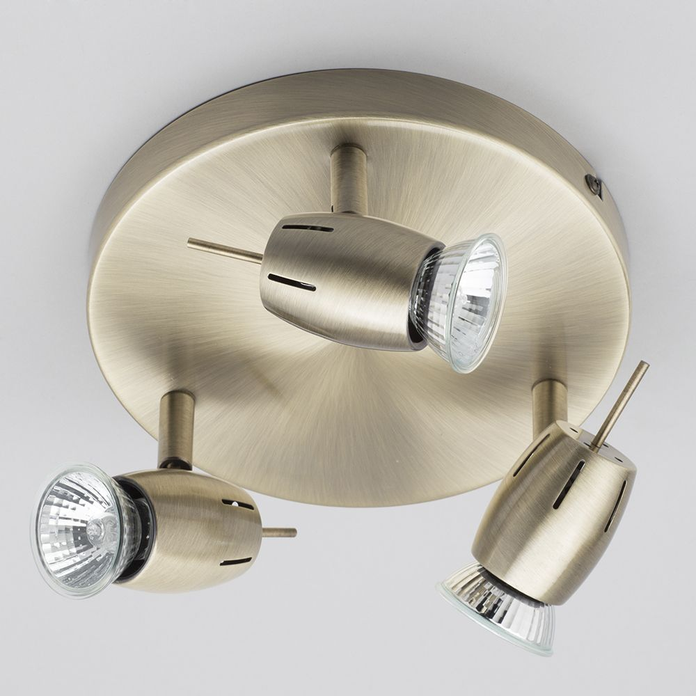 A Guide To Kitchen Lighting From Litecraft: Frank 3 Light Ceiling Spotlight Plate