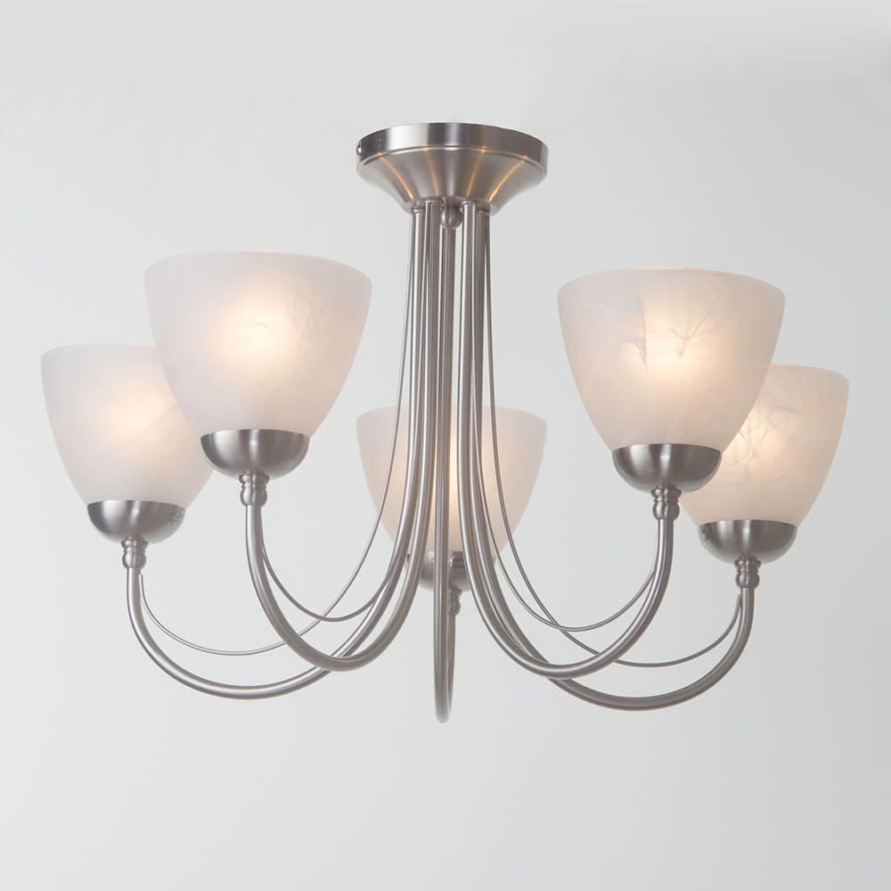 Ceiling Light Offers: Barcelona Flush Ceiling Light