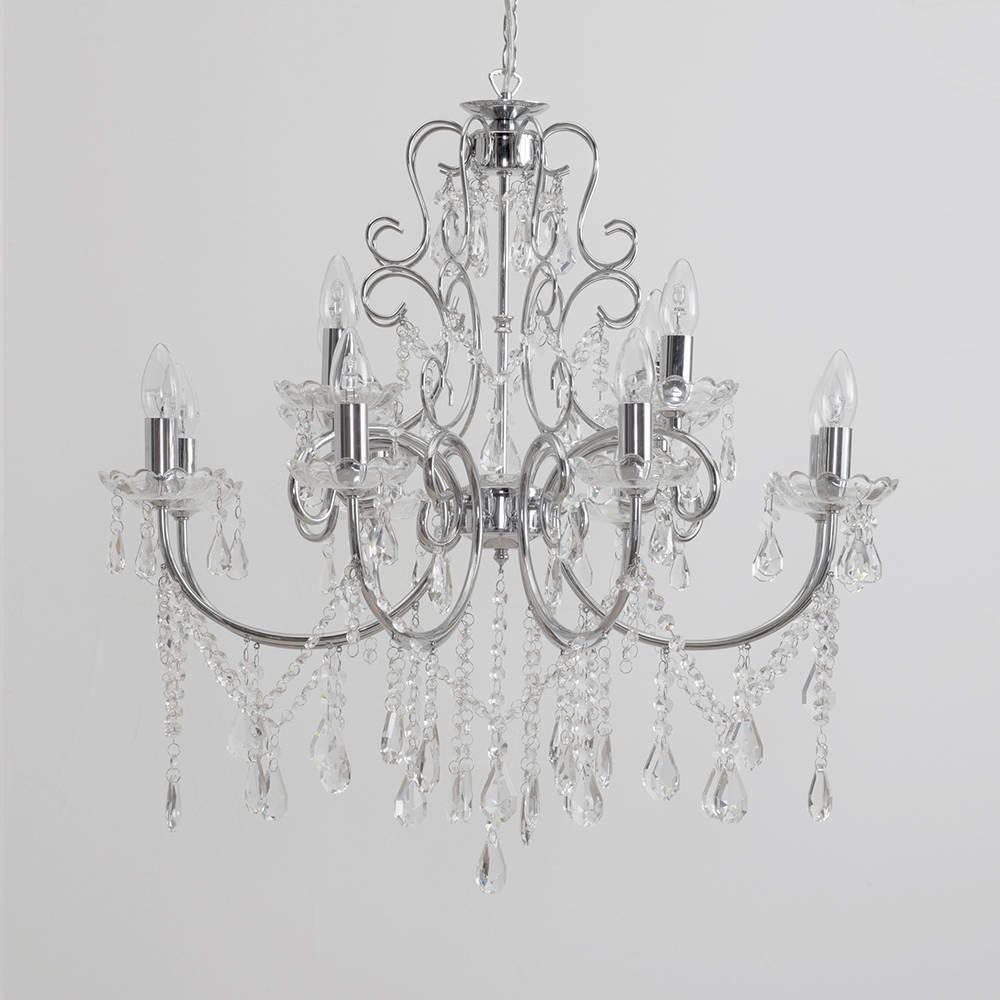 Elegant Victorian Style Inspired Shabby Chic Chandelier