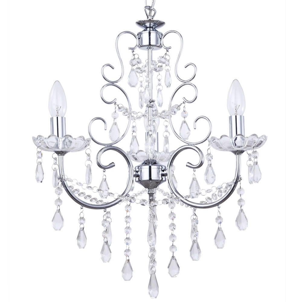 Chandelier madonna 3 light dual mount chrome from litecraft madonna 3 light dual mount chrome chandelier fastfree delivery aloadofball Images