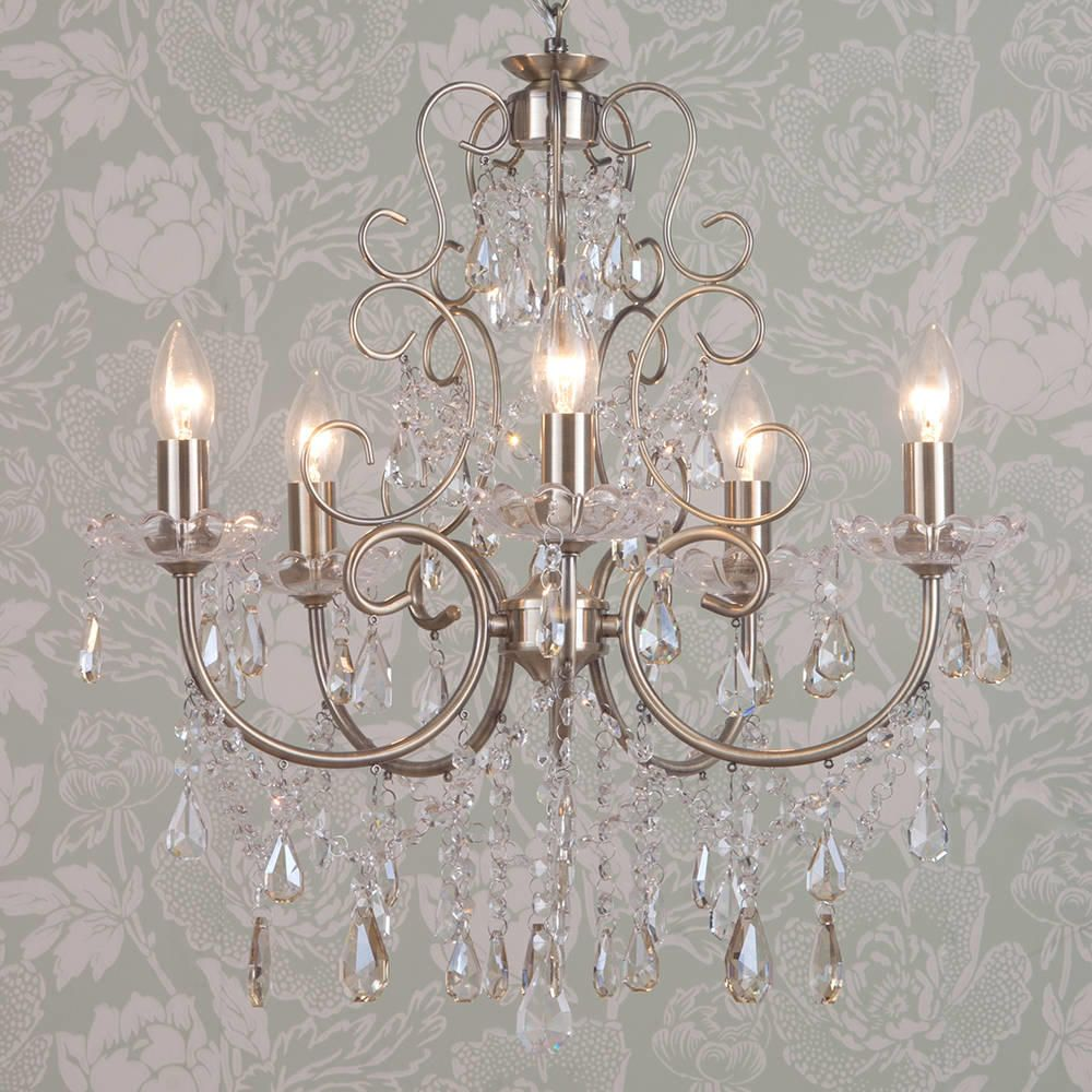 Madonna 5 Light Dual Mount Antique Brass Chandelier from Litecraft – Where Can I Buy a Chandelier