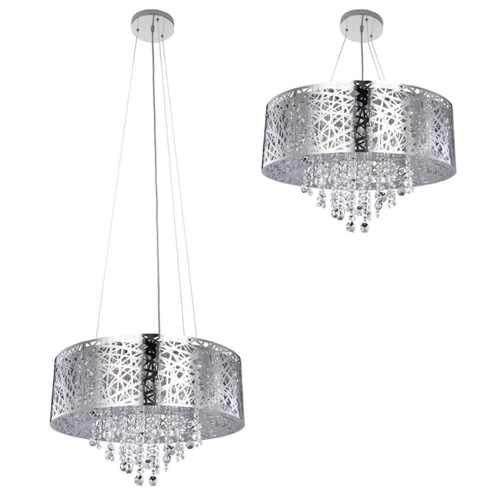 bedroom bulb dp modern finish for lightinthebox capiz chandelier mini style room shell white light included not chrome living ceiling fixture pendant