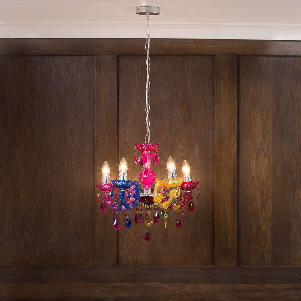 Marie therese 5 light dual mount chandelier multicoloured buy chandeliers online arubaitofo Image collections