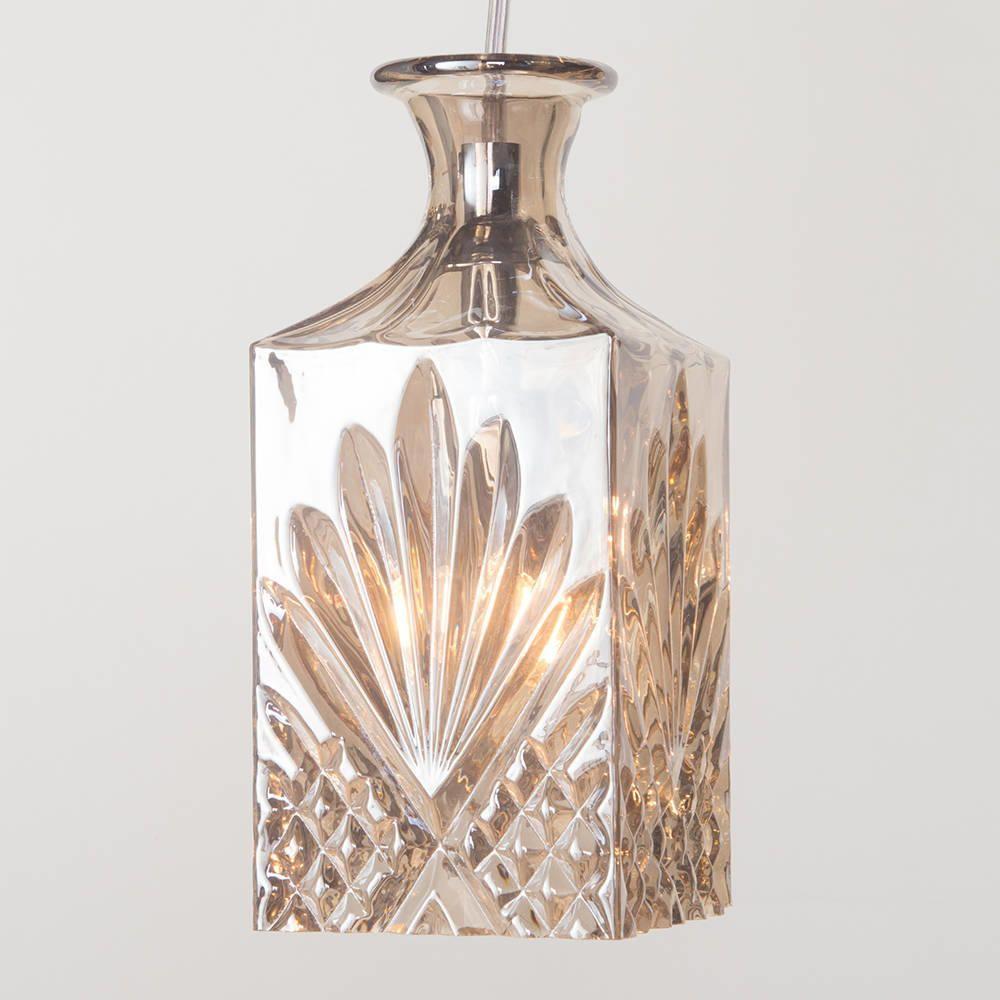 pendant lighting shade. decanter light shade ceiling pendant lighting a
