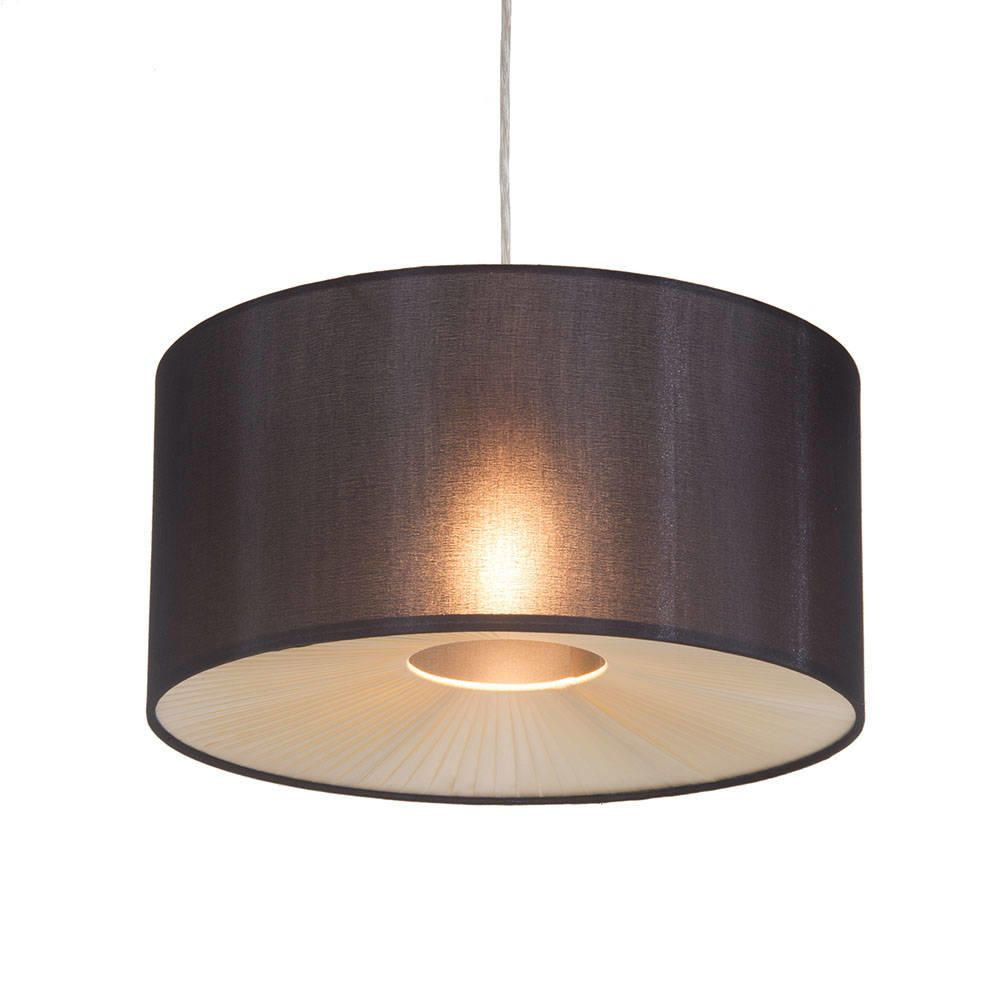 C01 Lc2045 Small Easy Fit Light Shade Black Ribbon