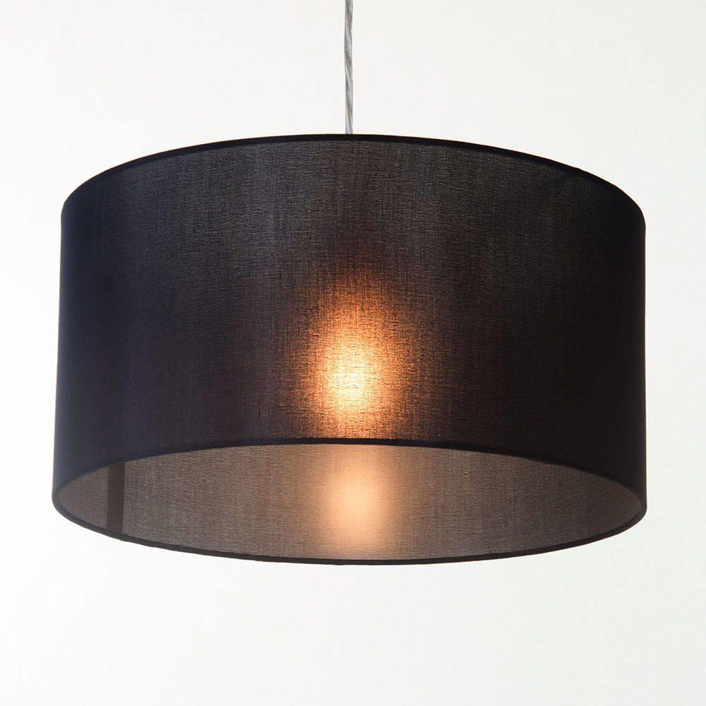 Ceiling Lamp Shades At Next: Large Ribbon Drum Easy To Fit Ceiling Shade