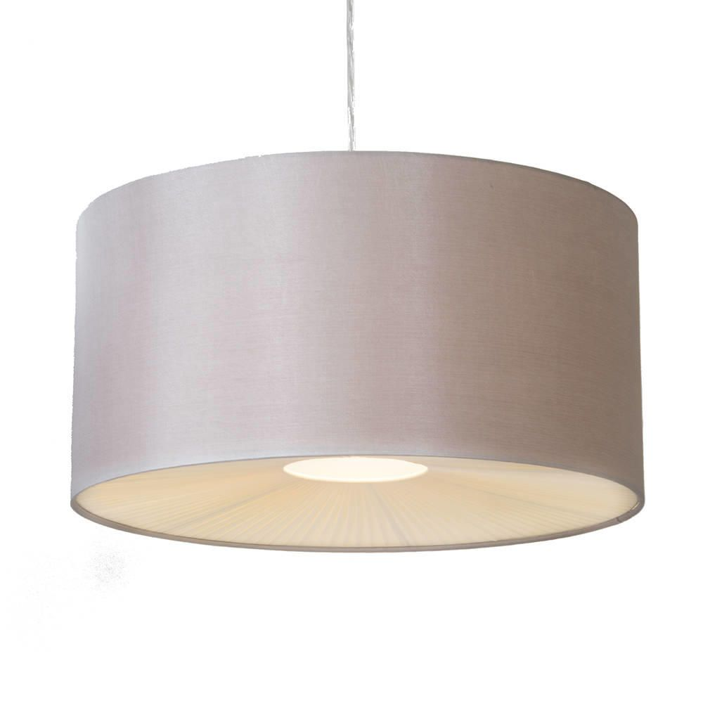 Easy Ceiling Lamp Shade: Large Ribbon Easy To Fit Ceiling Shade Drum