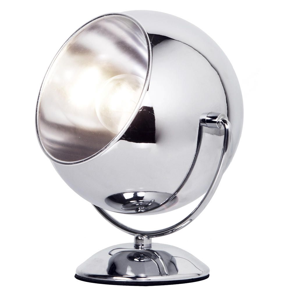 Exceptional Eyeball Table Lamp   Chrome FASTu0026FREE DELIVERY *
