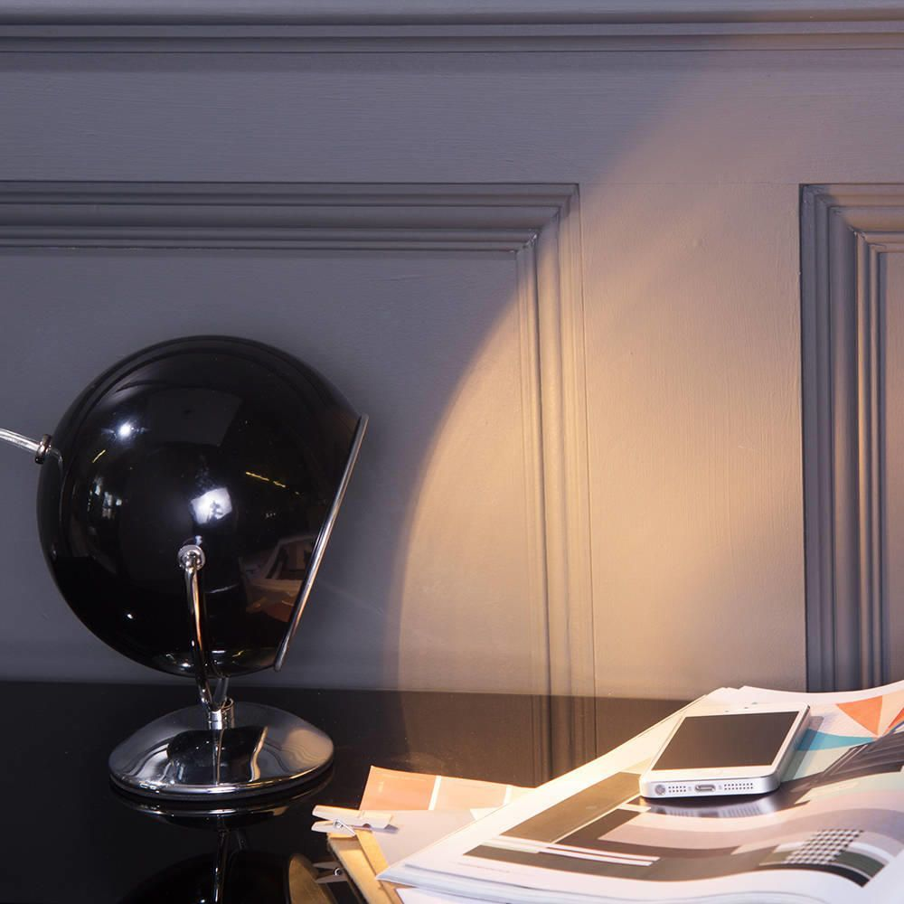 Eyeball Table Lamp Black From Litecraft