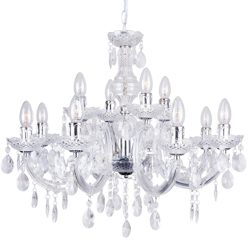 Marie therese chandelier 12 light chandelier chrome from litecraft marie therese chandelier 12 light chandelier chrome free delivery aloadofball Choice Image