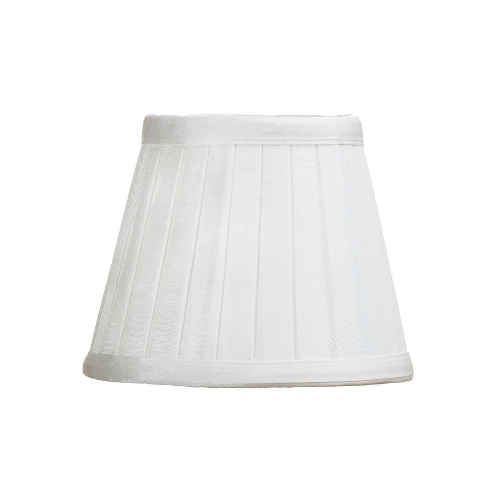 Pleated 5 5 Inch Candle Shade Ivory From Litecraft