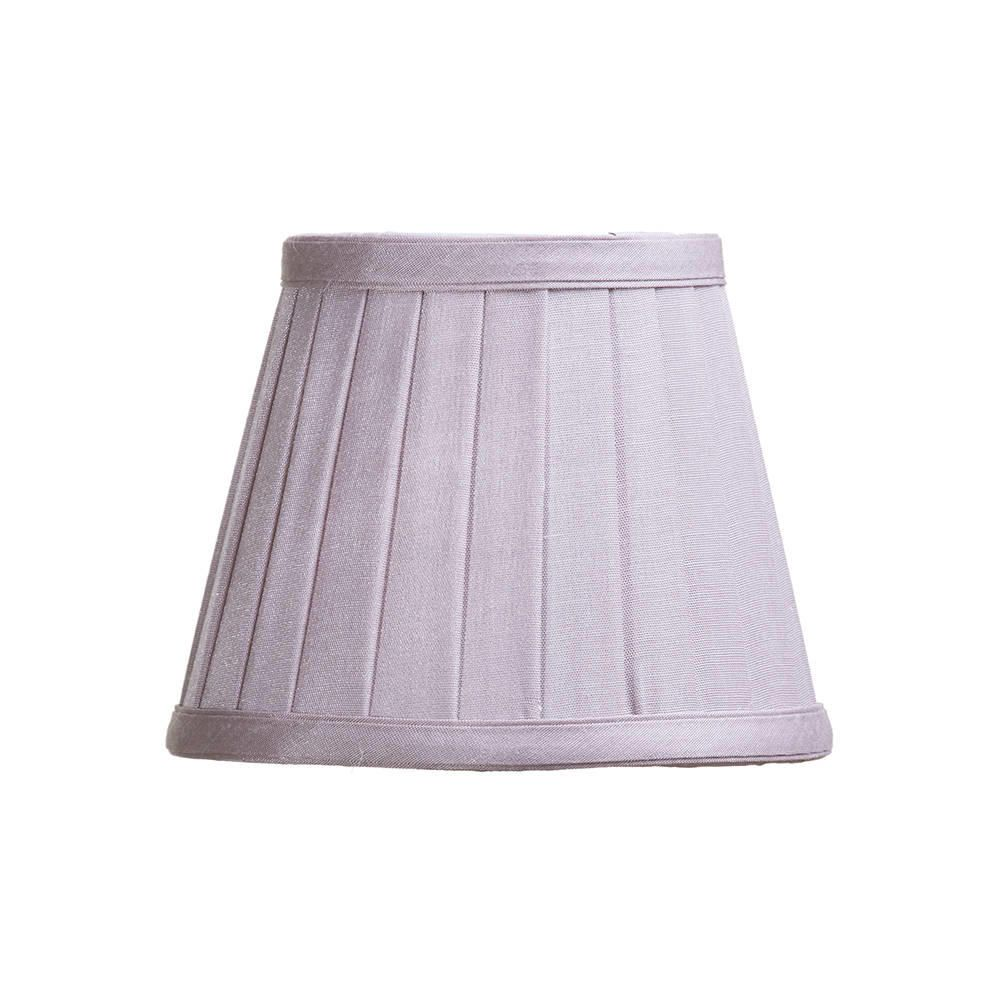 Pleated 6 Inch Candle Shade Lavender From Litecraft