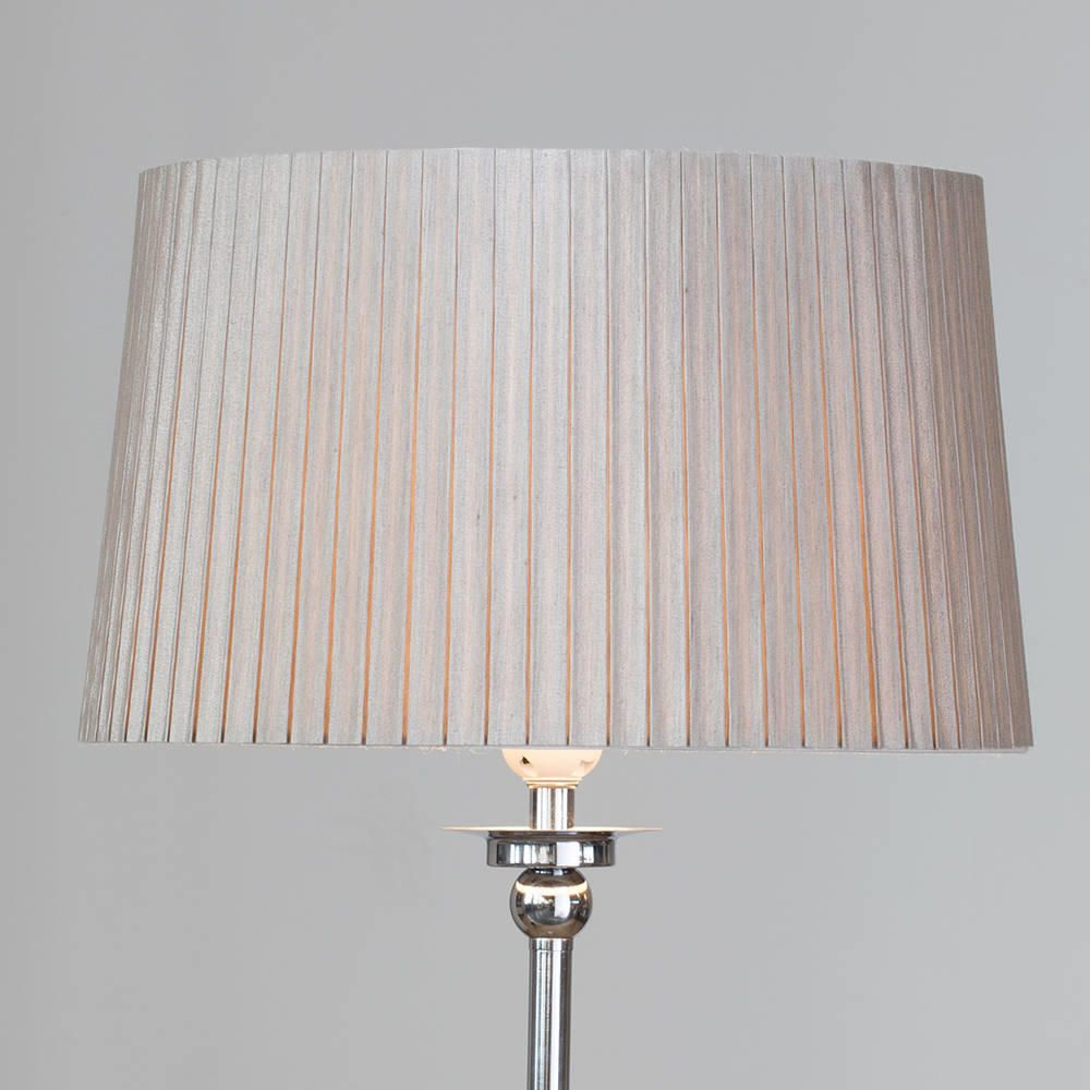 Rigid easy to fit shade pleated cylinder mocha from litecraft simplistic medium sturdy pleated shade perfect floor lamp shade aloadofball Gallery