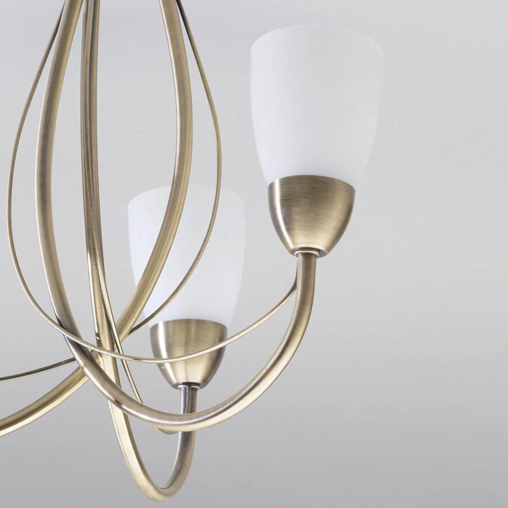 elegant ceiling light semi flush fitting
