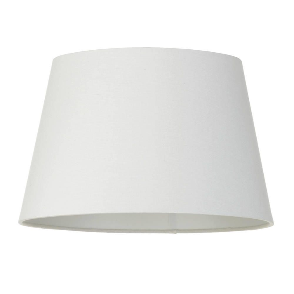 Soft cotton easy to fit 35cm lamp shade ivory from litecraft lamp shade ivory fastfree delivery mozeypictures Images