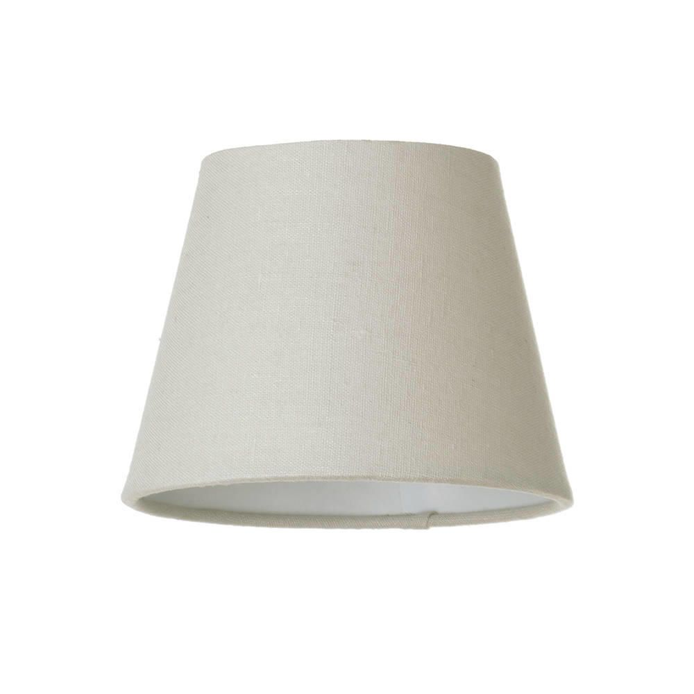 Soft Cotton Candle Lamp Shade Mocha From Litecraft