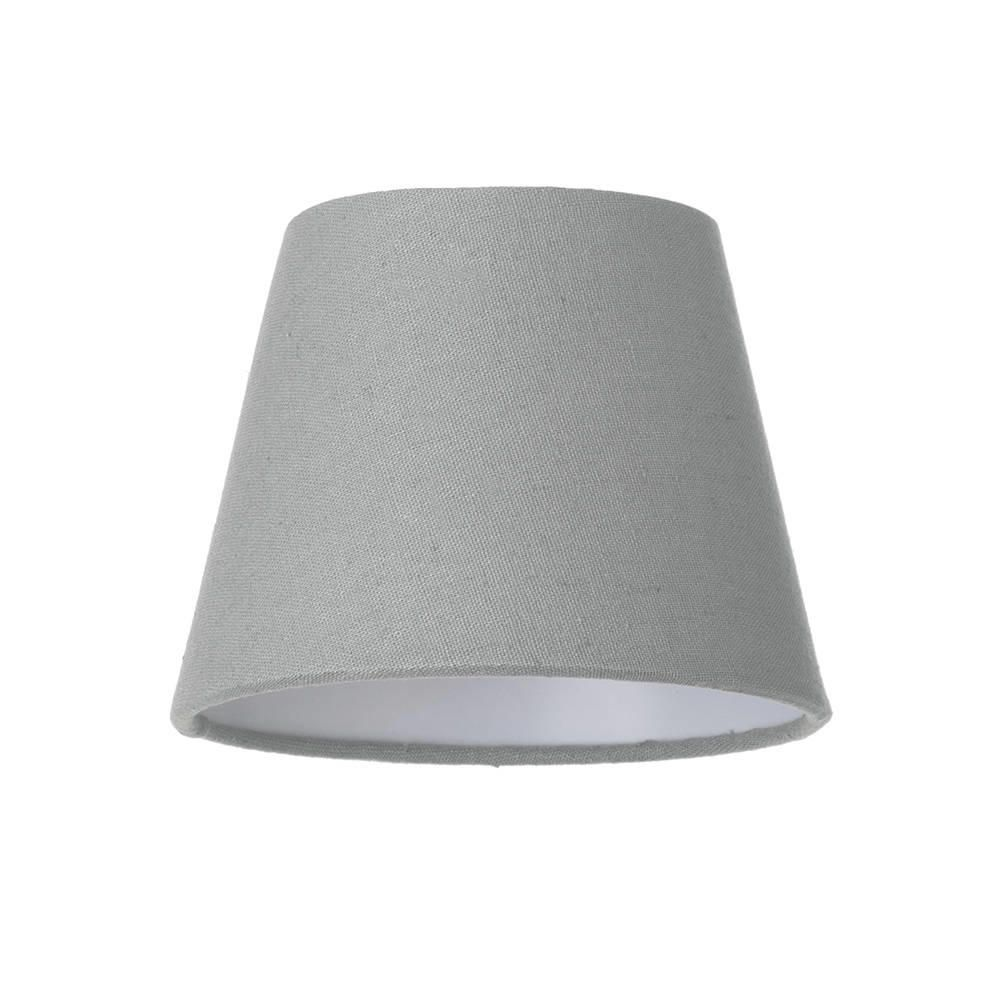 Soft Cotton Candle Lamp Shade Grey From Litecraft