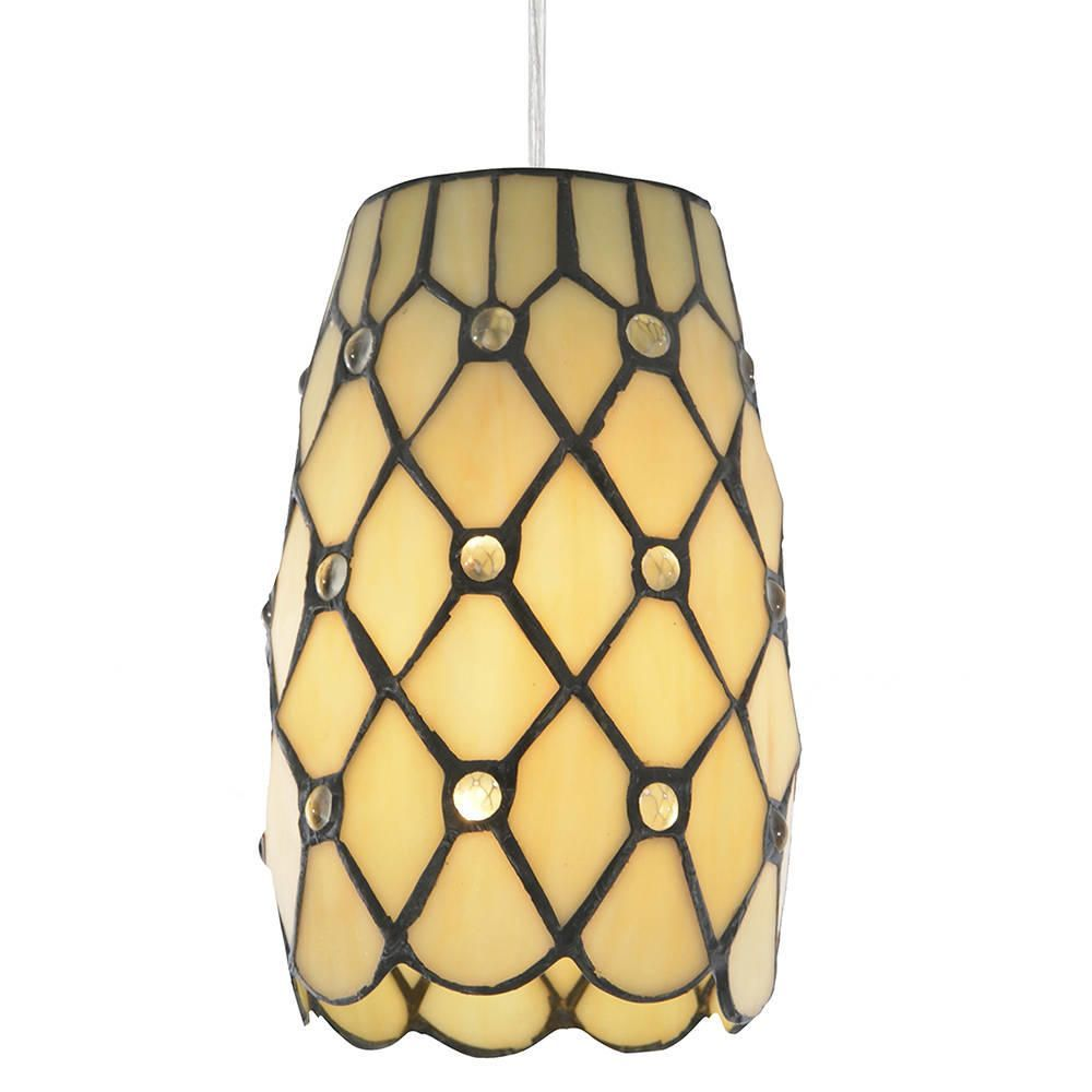 Tiffany jewel easy to fit lamp shade honey from litecraft tiffany jewel easy to fit lamp shade honey fastfree delivery aloadofball Choice Image
