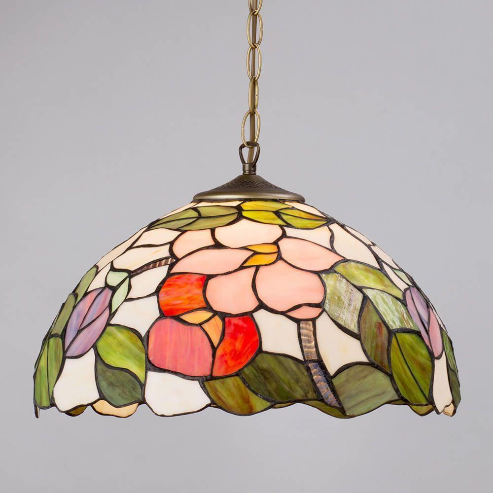 Fl Tiffany Style Jewel Table Lamp Vase Ceiling