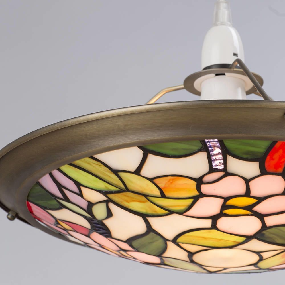 Details about easy fit up lighter tiffany inspired decorative home ceiling lighting litecraft