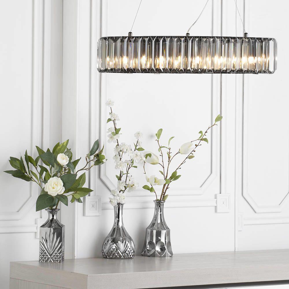 statement lighting. Eleganrt Dinning Room Light Perfect Statement Lighting Floral Glass Decanter Bottle L