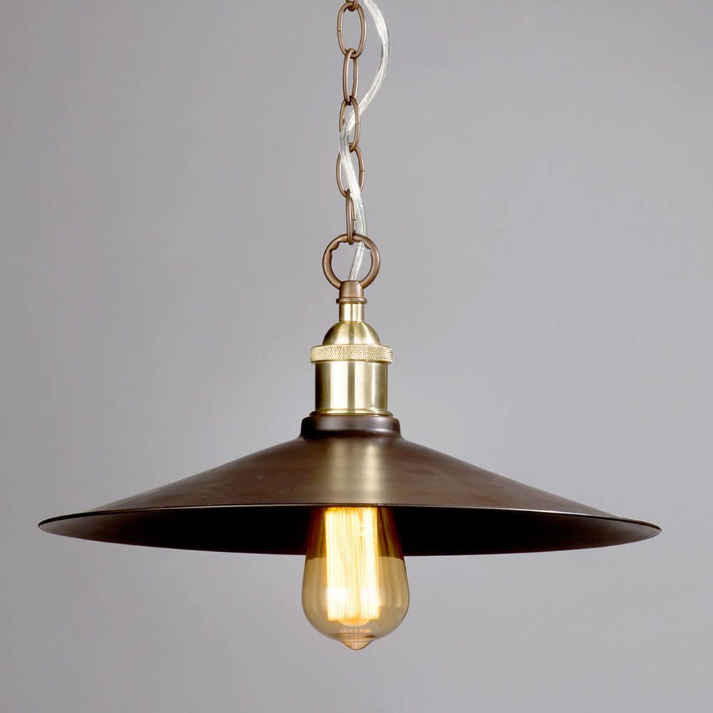 1 Light Industrial Diner Ceiling Pendant