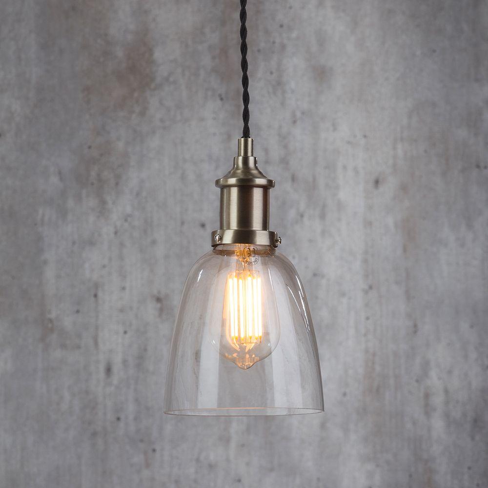 Industrial Kitchen Lights Uk: Industrial 1 Light Diner Style Ceiling Pendant