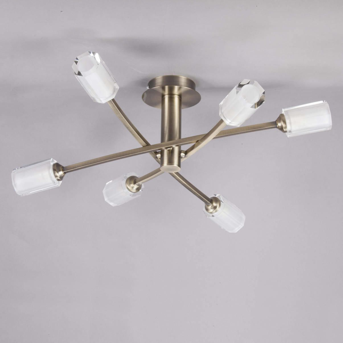 Octi Semi Flush Ceiling Light