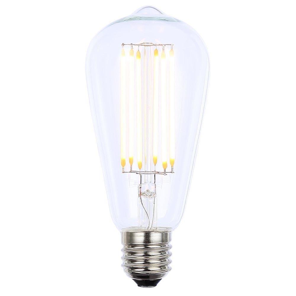 vintage filament 6 watt teardrop led e27 edison screw light bulb clear from litecraft. Black Bedroom Furniture Sets. Home Design Ideas