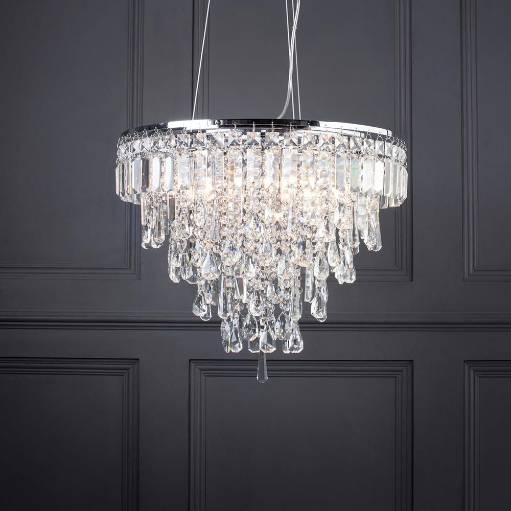 Marquis By Waterford Bresna 6 Light Bathroom Pendant