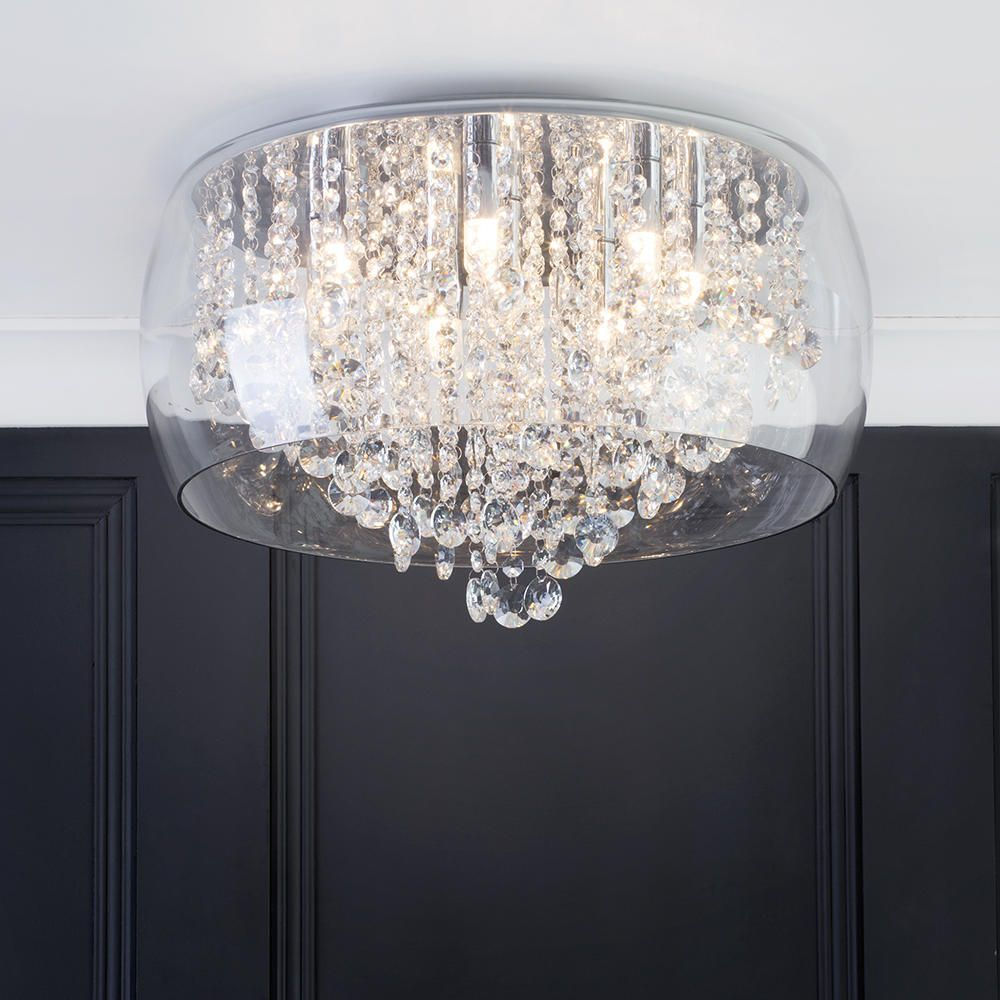Marquis By Waterford Nore Led Encased Ceiling Light