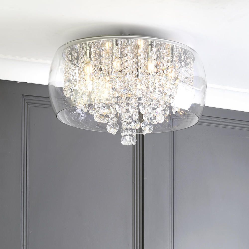 Marquis By Waterford Nore Led Large Encased Flush