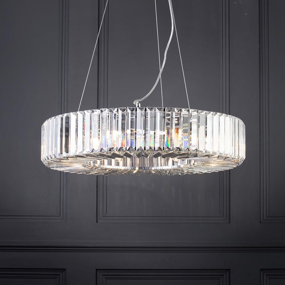 Marquis by waterford foyle led 8 light bathroom ceiling pendant waterford elegant bathroom pendant light arubaitofo Gallery