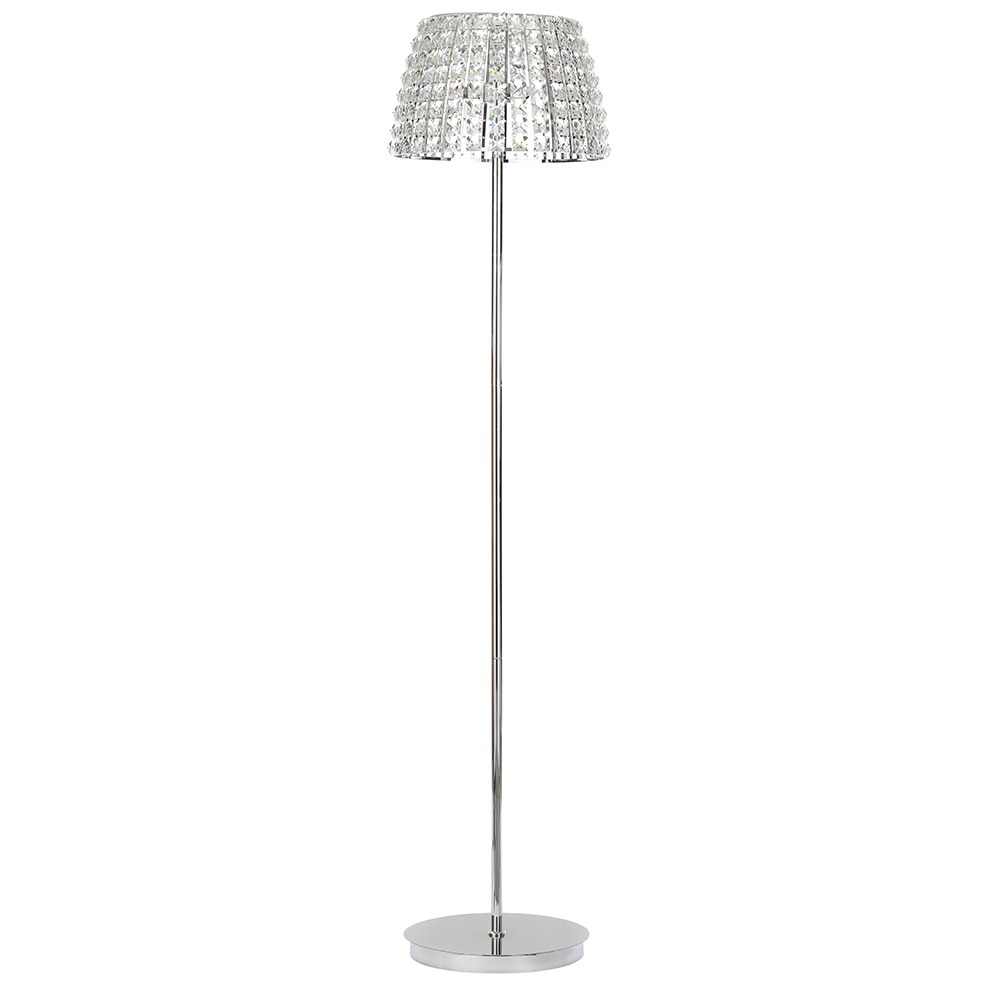 Marquis by Waterford - Moy 3 Light Floor Lamp - Chrome