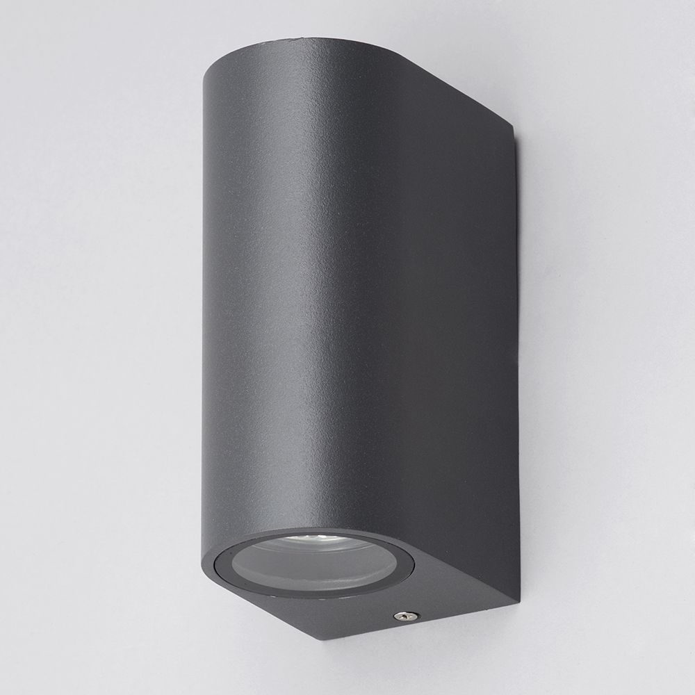 irwell up down light outdoor wall light black from litecraft. Black Bedroom Furniture Sets. Home Design Ideas