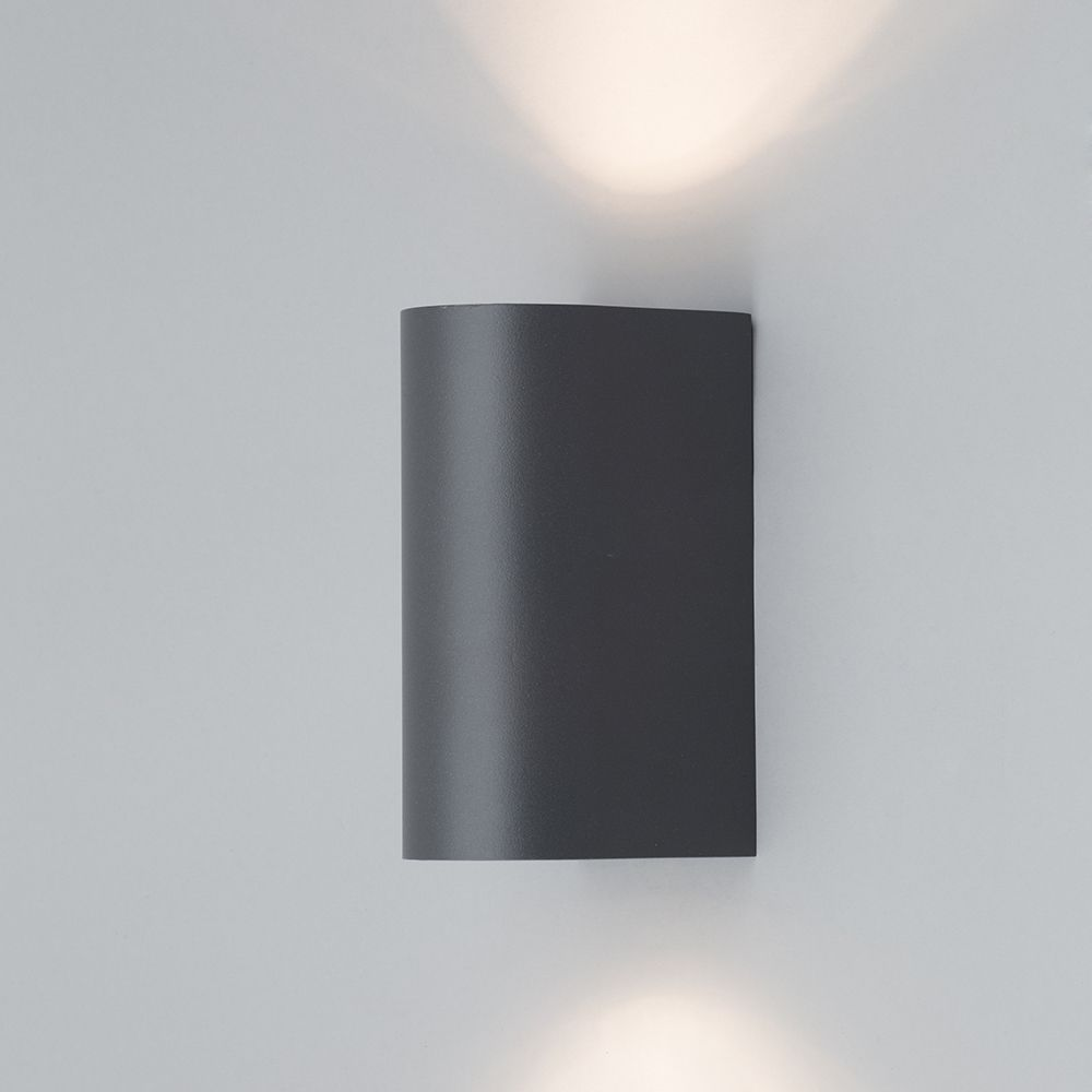 Litecraft Outdoor Wall Lights : Irwell Up & Down Light Outdoor Wall Light - Black from Litecraft