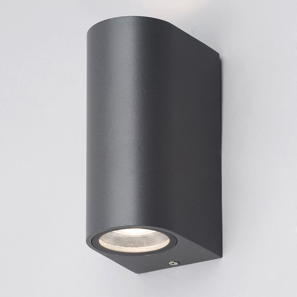irwell up down light outdoor wall light black from litecraft. Black Bedroom Furniture Sets. Home Design Ideas