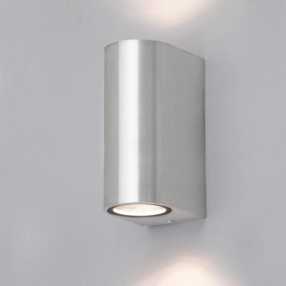 Wall Lights Litecraft : Irwell 2 Light Up and Down Outdoor Wall Light - Stainless Steel From Litecraft