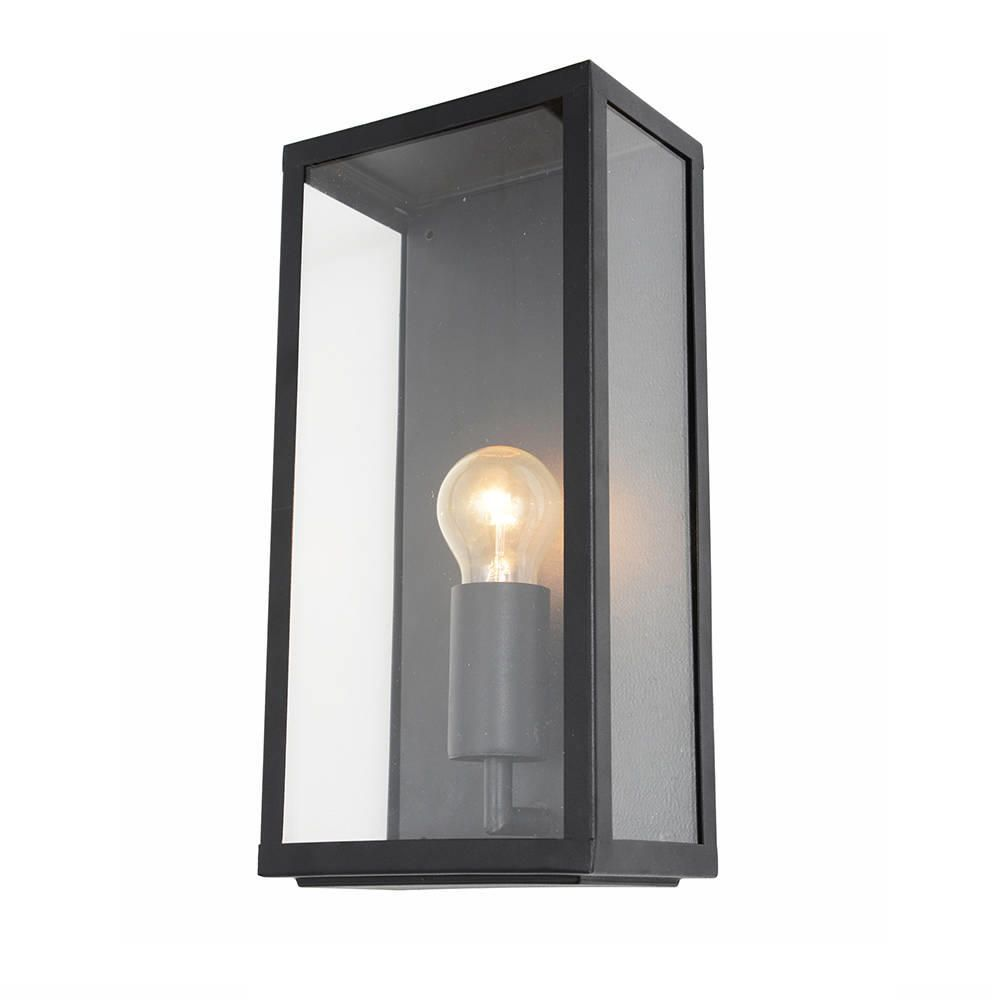 Litecraft Outdoor Wall Lights : Mersey Outdoor Lantern Wall Light - Black from Litecraft