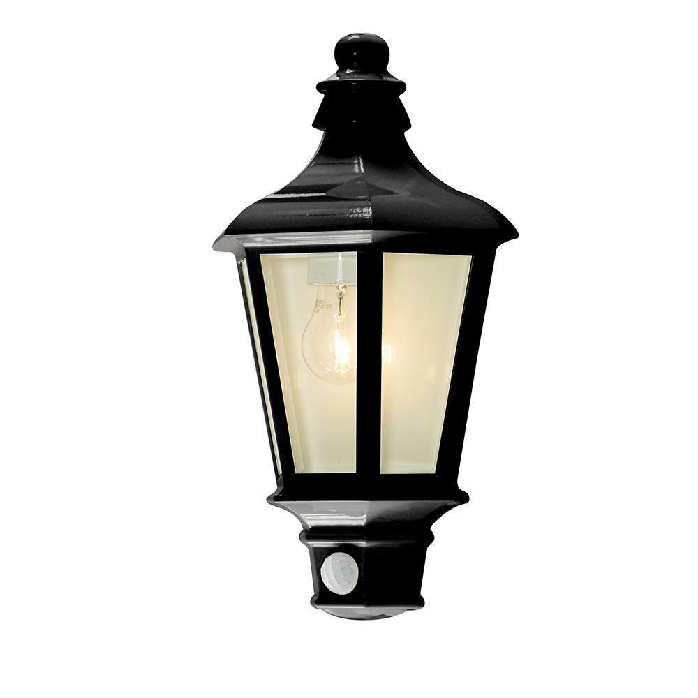 Perry Outdoor PIR Half Lantern