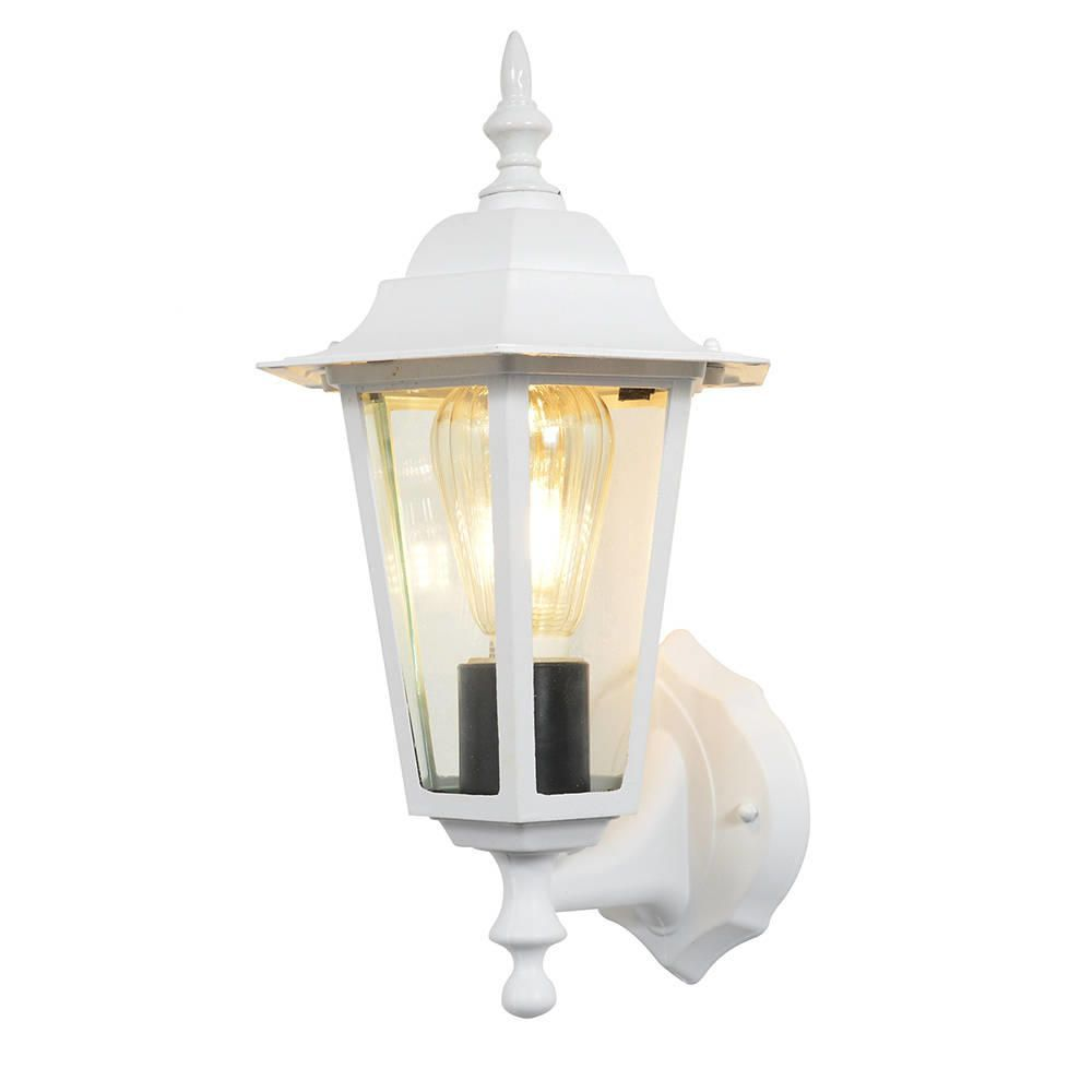 Arun 1 Light Outdoor Wall Light White From Litecraft