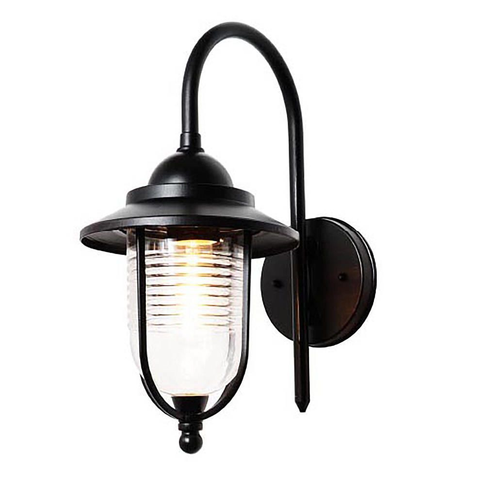 Ellen Outdoor Fishermans Style Wall Light - Black from Litecraft
