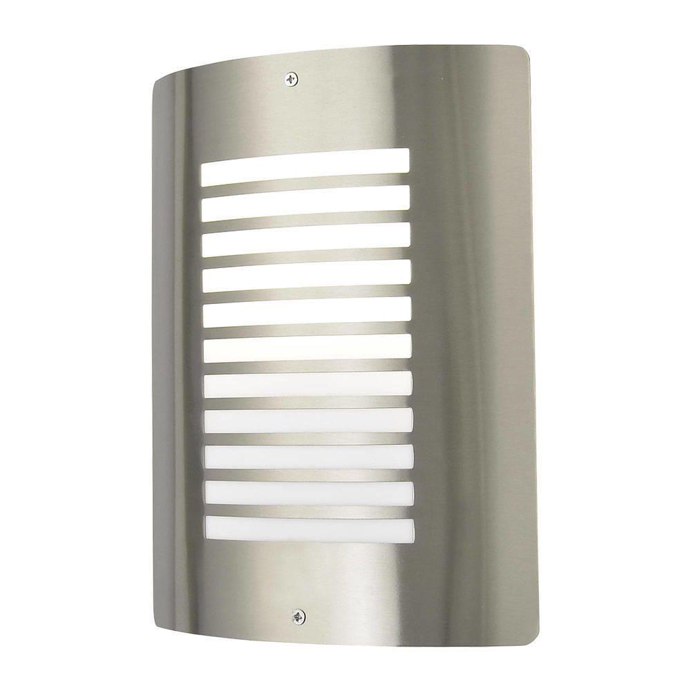 Clearance outdoor lights uk sales at litecraft shop c01 zn 25340 sst sigma 1 light outdoor slat wall lantern workwithnaturefo