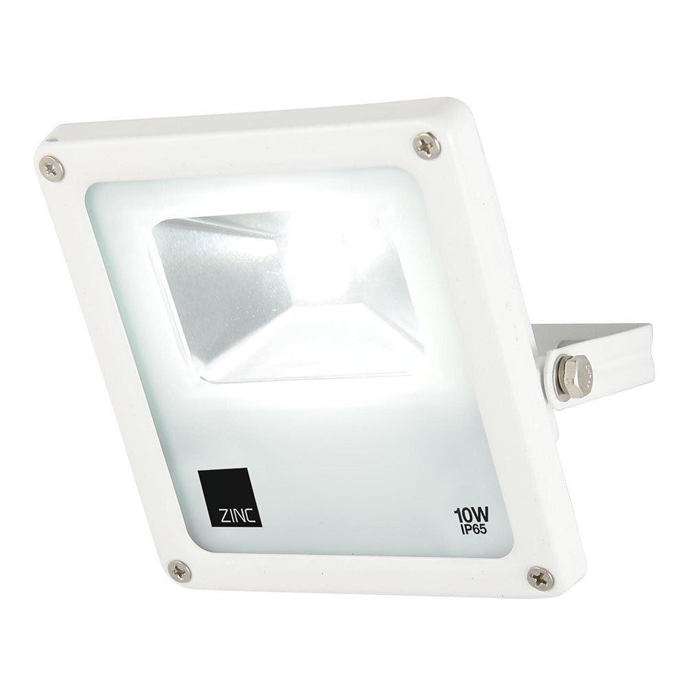Cordelia Small 1 Light Outdoor LED Slim Line Flood Light White