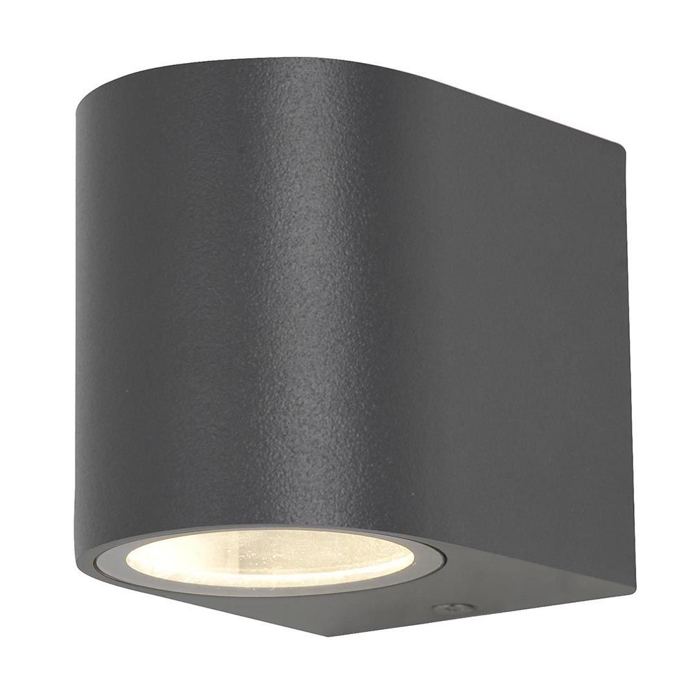 1 Light Outdoor Wall Light - Dark Grey From Litecraft