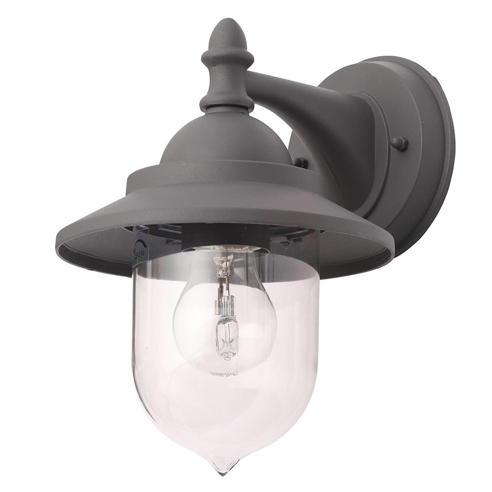 Outdoor Lighting Companies: Bacup Outdoor Fisherman Style Lantern Wall Light