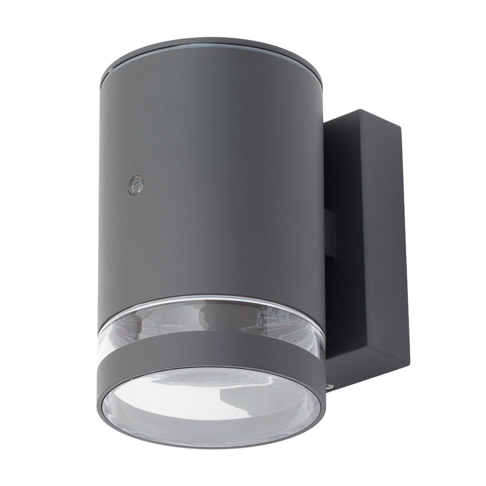 Helo Outdoor Wall Light With Photocell