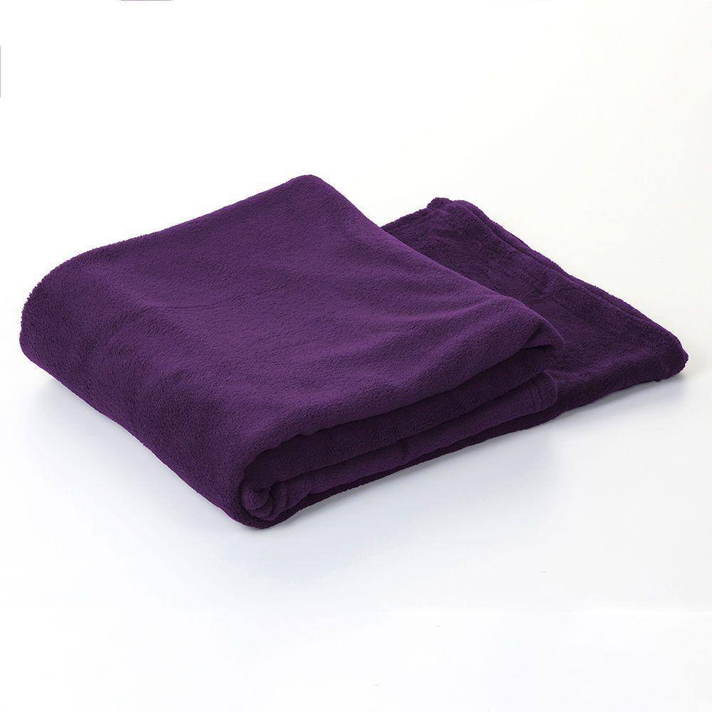 Luxury Micro Fleece Plum