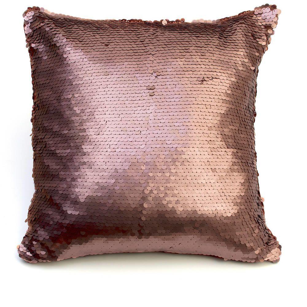Glitz Sequin Cushion Bronze
